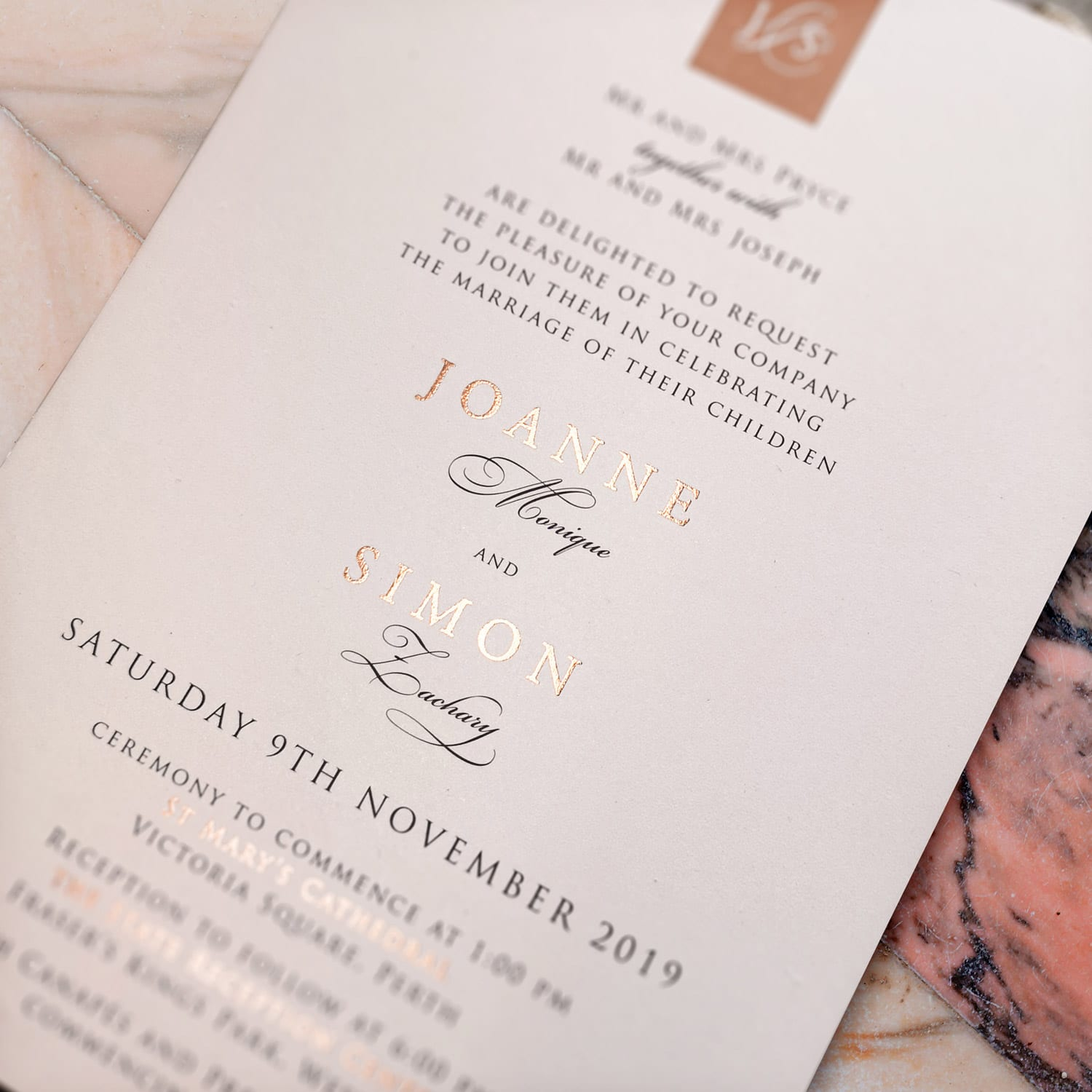 Felicitations-Wedding-and-Event-Stationery-Perth-Foil-Pressed-Invitations